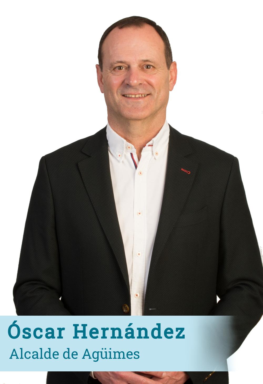 Óscar Hernández - Alcalde