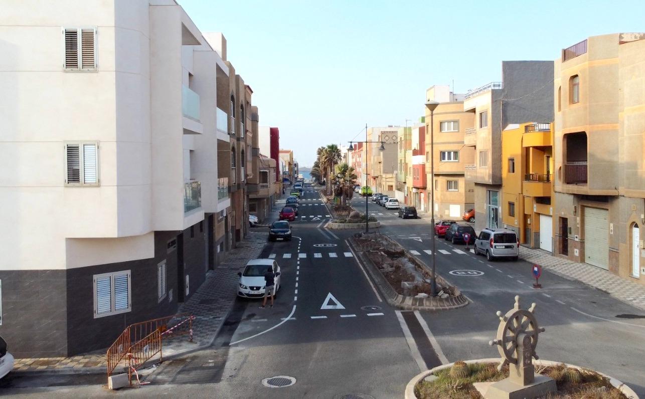 """Featured image for """"Avanza a buen ritmo la renovación del alumbrado público en la calle Alcalá Galiano."""""""